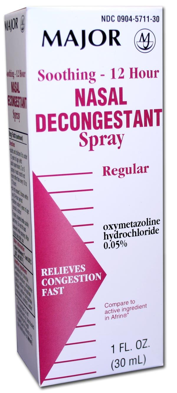 Nasal Decongestant 12 Hour Spray 30 Ml
