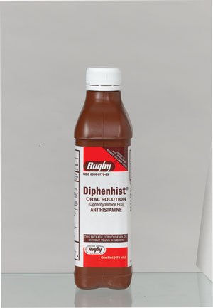 Image 0 of Diphenhist 12.5Mg-5Ml Solution 16 Oz By Major Rugby Labs