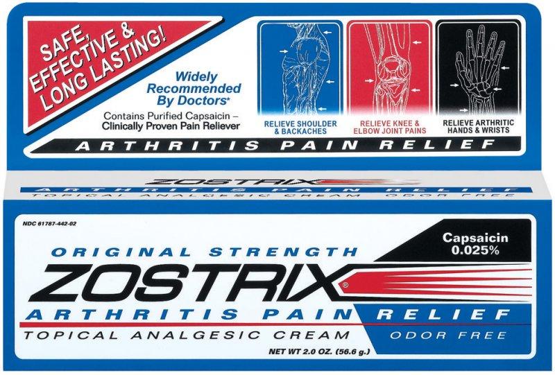 Zostrix Cream 2 Oz