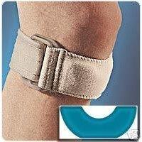 Image 0 of Fla Gelband Knee Strap Un Black 1X1 Ea By Fla Orthopedics Inc