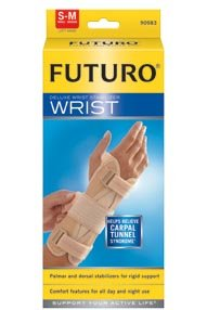 Image 0 of Futuro Brand Wrist Support Deluxe Rt Small /Medium 1X1 Each By Beiersdorf / Fu