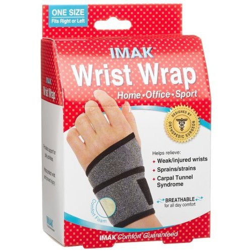 Image 0 of Imak Wrist Wrap One Size 1X1 Each By Imak Products