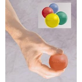 Image 0 of THERABAND HAND EXERCISER GRN MEDIUM 1X1 EA BY HYGENIC CORPORATION (THE)