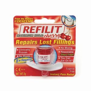 Refilit Cherry Flavored Filling Material 10 Ct