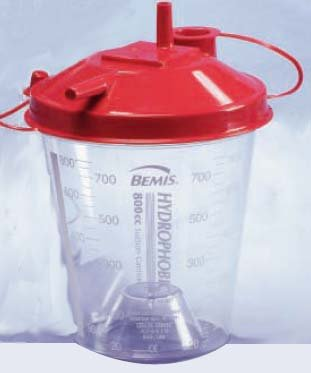 Bemis Suctin Canister With Lid 800Cc 10 In Each : Case One: Case