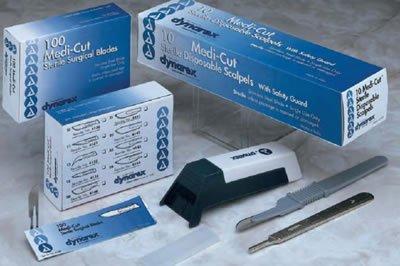 Dyanrex - Medi-Cut Stainless Steel Surgical 1 In Each : Case One: Case