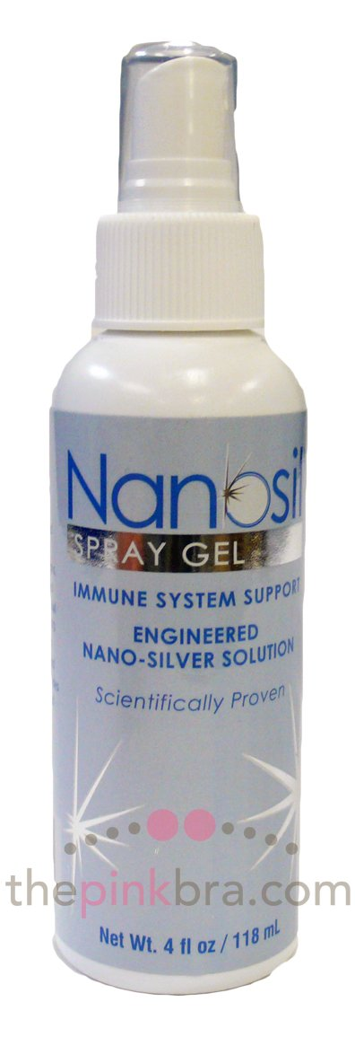Nanosil Spray Gel 4 oz Bottle 24 In Each : Case One: Case