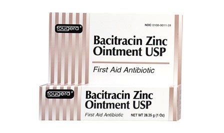 Fougera - Bacitracin Zinc Ointment 4 oz Tube 48 In Each : Box One: Box