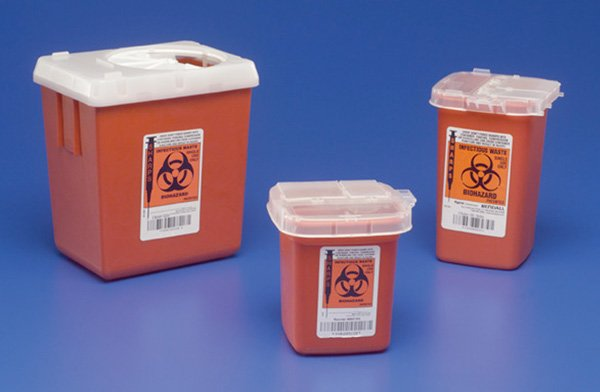 Image 0 of Sharps Containainer 2.2 Quart Phlebotomy 60 In Each: Case, One: Case