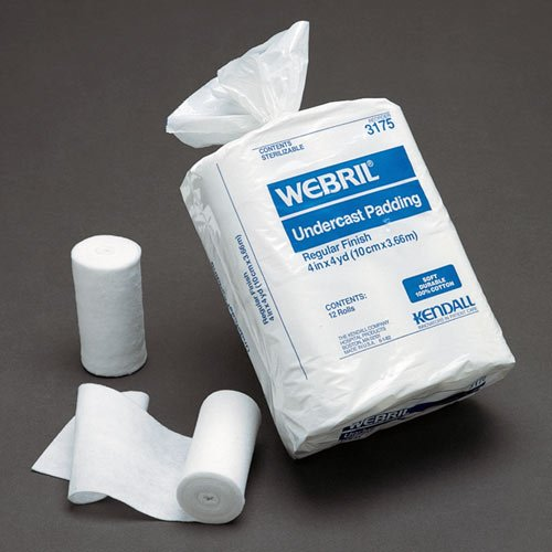 Image 0 of Webril Cotton Undercast Ns 3X4Yrd. 12 In Each : Bag One: Bag