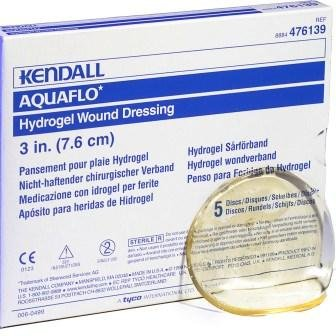 Aquaflo Hydrogel Dressing 4 3/4 IN