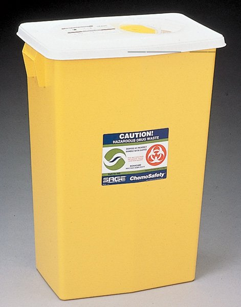Image 0 of Chemo Safety 12 Gal.Container With 10 In Each:Box One:Box