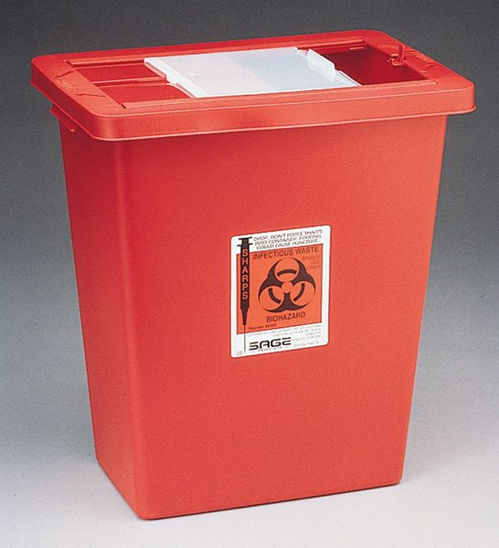 Image 0 of Biomax Sharps Container 12Gal Red 10 In Each:Box One:Box