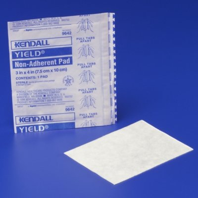 Image 0 of Yield Non Adherent Pad 3X4 St 100 In Each:Box One:Box