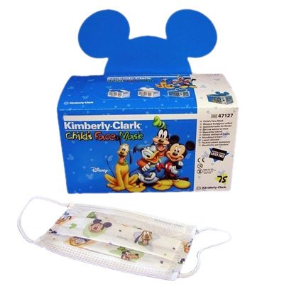 Kimberly Clark Corp - Childs Face Mask White W/Disney 10 In Each : Case