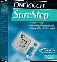 Lifescan - Onetouch Surestep Test Strips 50's 24 In Each : Case One: Case