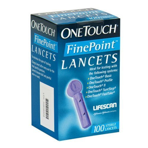 Lifescan - Onetouch Finepoint Lancets 100's 1 In Each : Case One: Case