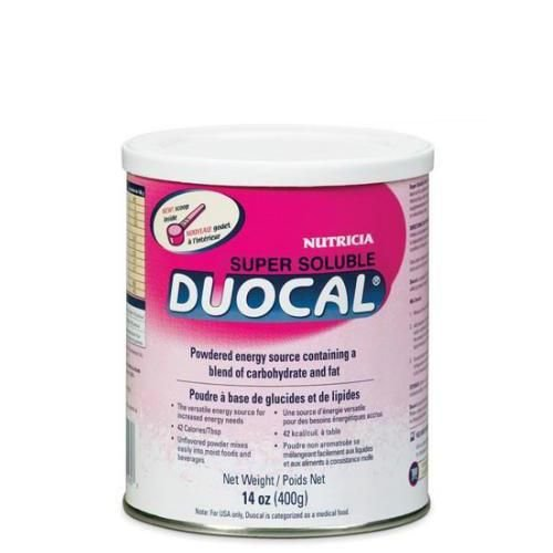 Nutrica Duocal Powder 14 oz Super Soluble 4 In Each : Case One: Case