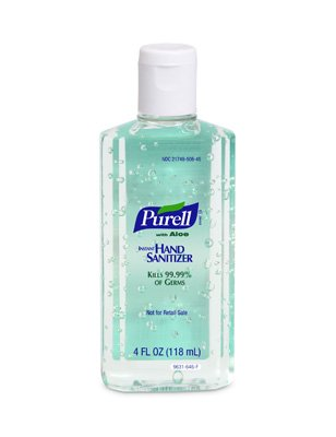 Image 0 of Provon - Purell Inst Hnd Sani W/Aloe 4 oz 24 In Each : Case One: Case