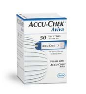 Roche Diagnostics - Accu-Chek Aviva Test Strips 50's 36 In Each : Case
