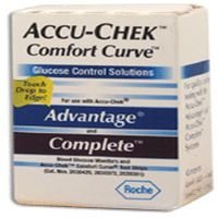 Roche Diagnostics - Accu-Chek Comfort Curve Glucose 6 In Each : Case One: Case
