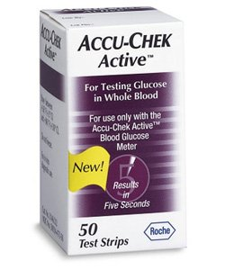 Roche Diagnostics - Accu-Chek Active Test Strips 50's 1 In Each : Box One: Box