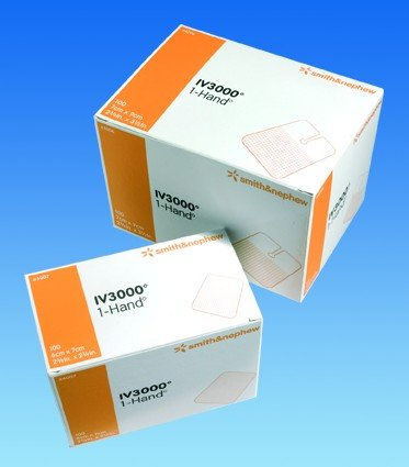 Image 0 of Smith & Nephew - Opsite Iv 3000 4 X 5 50 In Each : Box One: Box