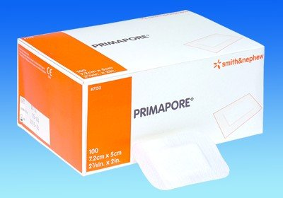 Image 0 of Smith & Nephew - Primapore 11 3/4 X 4 Pad 9 X 2 10 In Each : Case One: Case