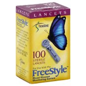 Therasense - Freestyle Sterile Lancets 100's 1 In Each : Case One: Case
