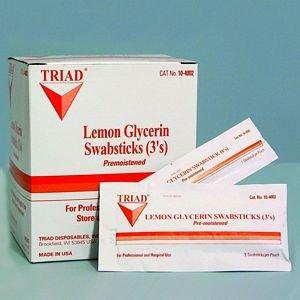 Traid Medical - Lemon Glycerin Swabsticks 3's10 In Each : Case One: Case