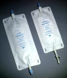 Image 0 of Urosafe Leg Bag 32 oz 100ml Clear 12 In Each : Case One: Case