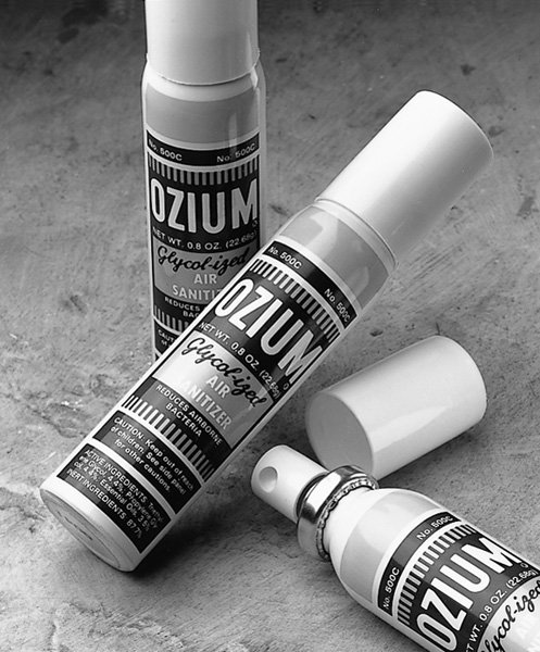 Ozium Glycolized 14.5 oz Air 12 In Each : Case One: Case