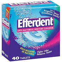 Welch Allyn - Efferdent Tablets 6 Box Case