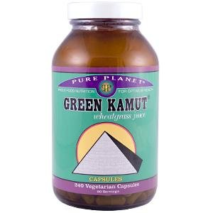 Grn Kamut Organic  Dried Juice  240 Cap  1 By Pure Planet