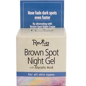 Image 0 of Brown Spot Night Gel 1.25 oz 1 By Reviva Labs
