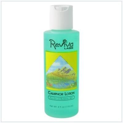 Image 0 of Camphor Skin Lotion 4 oz 1 By Reviva Labs