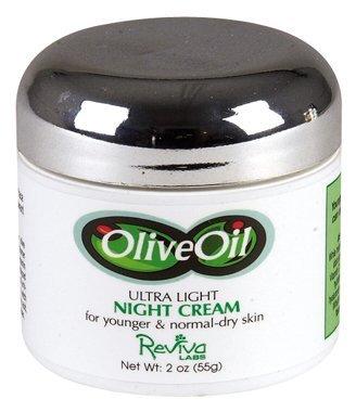 Image 0 of Olv Oil Lite Nite Cream 2 oz 1 By Reviva Labs