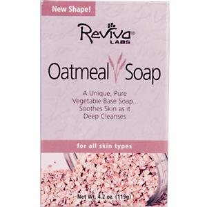 Image 0 of Soap Oatmeal 4.2 oz 1 By Reviva Labs