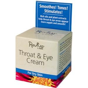 Image 0 of Throat & Eye Cream 1.5 oz 1 By Reviva Labs