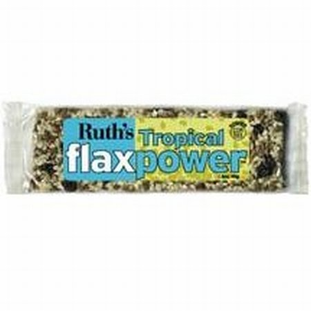 Flaxpower Bar Tropical Bar 12 By Ruth Hemp Food