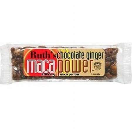Maca Bar Choc Ginger Bar 12 By Ruth Hemp Food