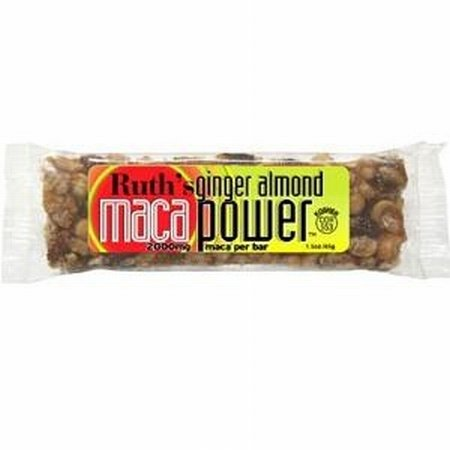 Maca Bar Ginger Almond Bar 12 By Ruth Hemp Food