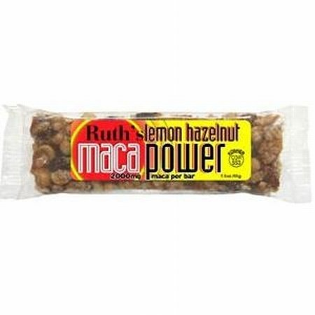 Maca Bar Lemon Hazelnut Bar 12 By Ruth Hemp Food