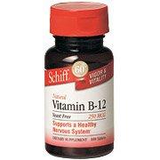 B-12 250 Mcg 100 Tab 1 By Schiff Vitamins