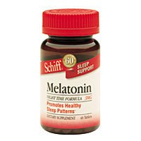 Image 0 of Melatonin 1mg 60 Tab 1 By Schiff Vitamins