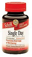 Image 0 of Single Day Time Rel 60 Tab 1 By Schiff Vitamins