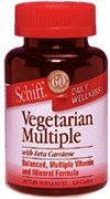 Image 0 of Vegetarian Multiple 120 Cap 1 By Schiff Vitamins