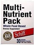 Image 0 of Whl Food Based Multi-Nutr 30 Pak 1 By Schiff Vitamins