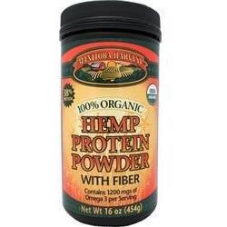 Protein Powder Organic Hemp W/Fb 16 oz 1 By Manitoba Harvest