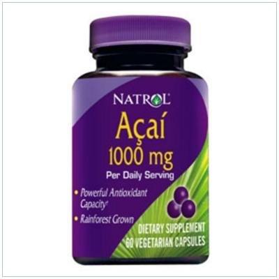 Acai 1000 mg 60 Vcap 1 Mfg. By Natrol